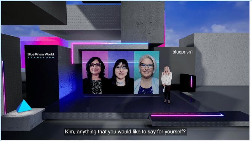 Blue Prism World 2020 Virtual Event Panel